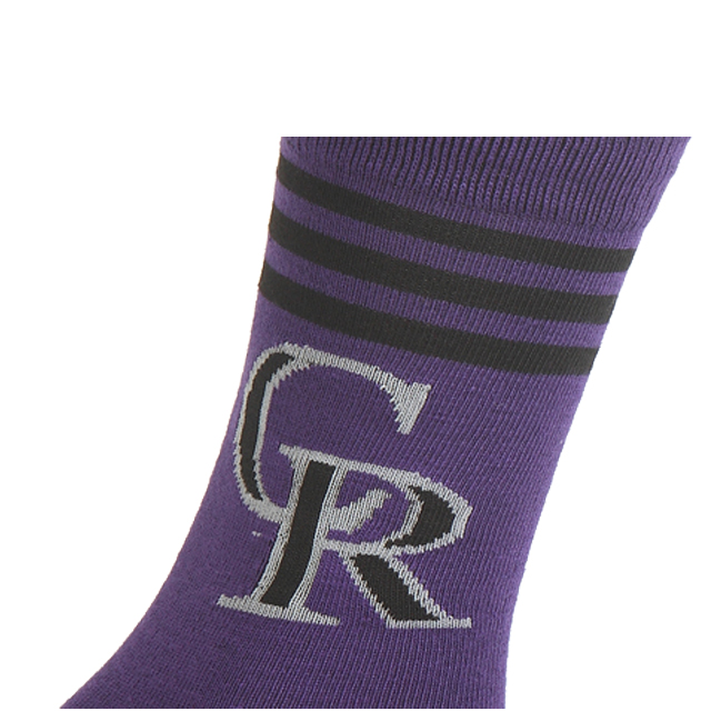 Fashion Polyester Jacquard Sport Socks