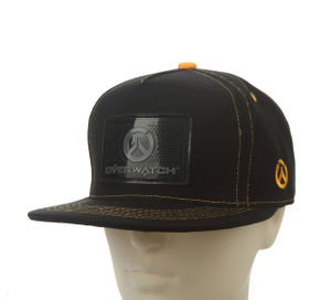 Flat Bill PVC Patch Black Color Basebeall Cap