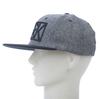 Flat Bill 3D embroidery Two-pantone Color Basebeall Cap
